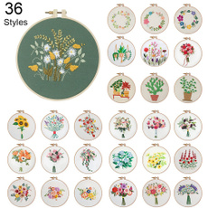 crossstitch, Flowers, embroiderythread, embroiderykit