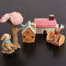 Mini, desktopornament, Garden, diydollhouse