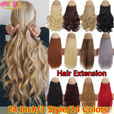 Women's Fashion & Accessories, clip in hair extensions, Straight Hair, Hair Extensions & Wigs