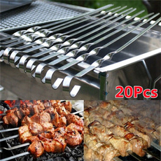 barbecueskewer, bbqtool, Kitchen & Dining, camping