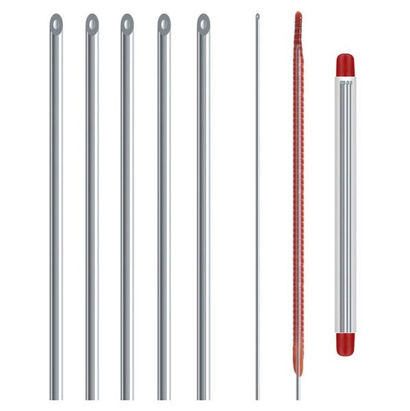 upper, bait, Needles, Metal