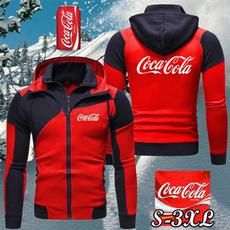 zipperjacketsmen, Fleece, Fashion, Winter