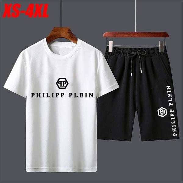 Summer, Short Sleeve T-Shirt, Cotton, pants