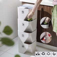 Bathroom, garbageseparationbucket, kitchentrashcan, Kitchen & Dining