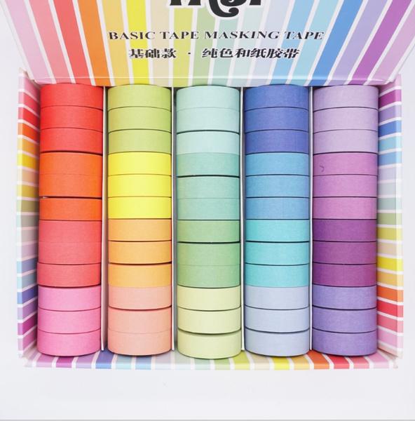 diyadhesivetape, rainbow, Colorful, papertape