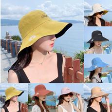 Summer, Fashion, Beach hat, foldablesuncap