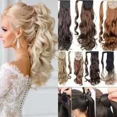 ponytailextension, wig, curlyhairextension, human hair
