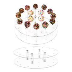lollipopholder, weddingbirthdaypartydecoration, Food, transparentroundacrylic