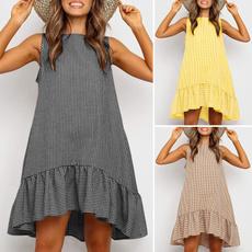 Mini, women dress, rufflehemdres, ruffle