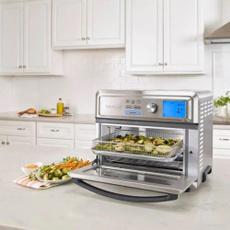 cuisinart, airfryer, toa65, toaster