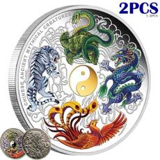 Beautiful, collectiblecoin, Phoenix, Chinese