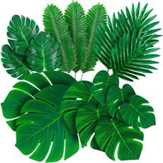 tropicalleave, artificialplantsflower, theme, palmtreewallart
