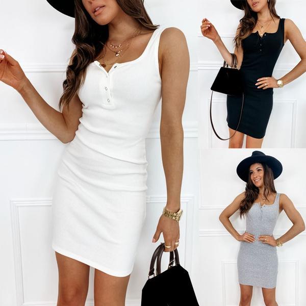 Summer, Fashion, short dress, pencil