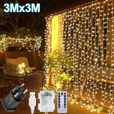 party, Decoración, 3x3mledcurtainlight, Remote Controls