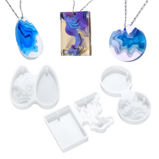 diycrystalisland, Jewelry, Silicone, pendantmould