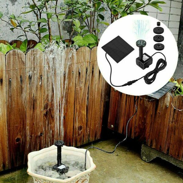Outdoor, solarfountainpump, gardenpondfoundation, fountainwaterpump