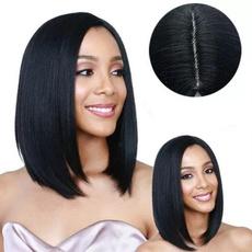 wig, Black wig, straightwig, Shorts