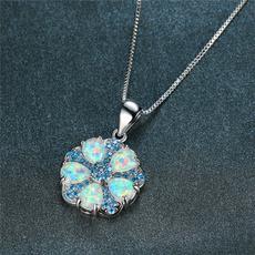 Necklace, Women, Flowers, Jewelry