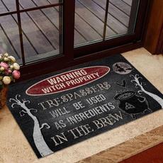 doormat, Door, Halloween, wishdoormat