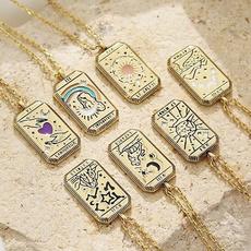 amuletpendant, Personalized necklace, oldfashionnecklace, Star