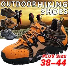 Outdoor, Hiking, Couple, Men