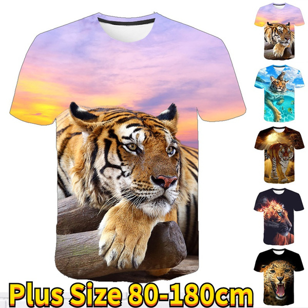 Summer, Plus Size, kids clothes, 3dprintedtshirt