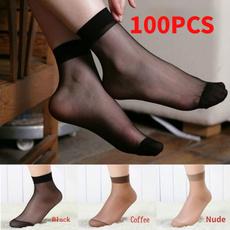 Shorts, Elastic, ultra thin, Socks