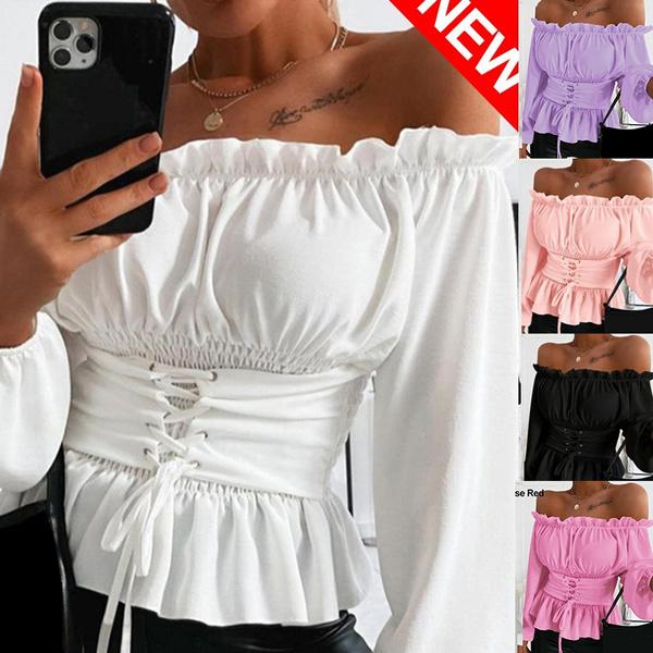 Beautiful, blouse, Plus Size, off the shoulder top