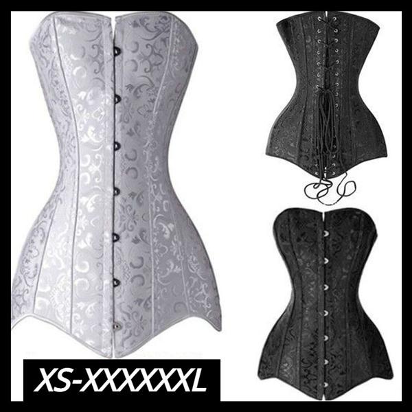 Plus Size, waist trainer, Corset, sexy corset