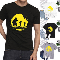 Dragonball, Fashion, Cotton, Shirt