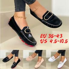 Flats, leather, Vintage, Doug Shoes