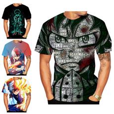 myheroacademiashirt, Plus Size, Shirt, Sleeve