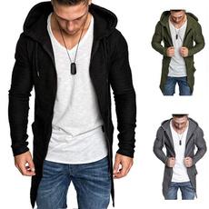 Fashion, hoodedjacket, Long Sleeve, Jackets/Coats