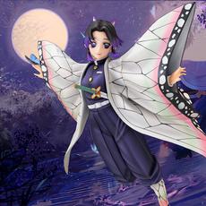 kochoushinobu, butterfly, rengoku, animefigure
