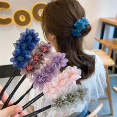 hairstyle, hairbunclip, budhairclip, Sweets