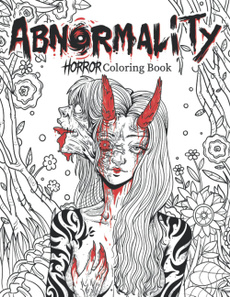 coloringbook, scary, Book, Horror