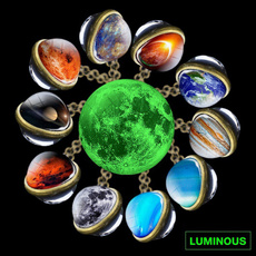 venu, luminousnecklace, solarsystem, Jewelry