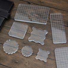 acrylicstampblock, acrylicstampingblock, clearstampblock, Tool