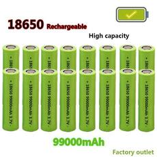 Flashlight, Capacity, liionbattery, Battery