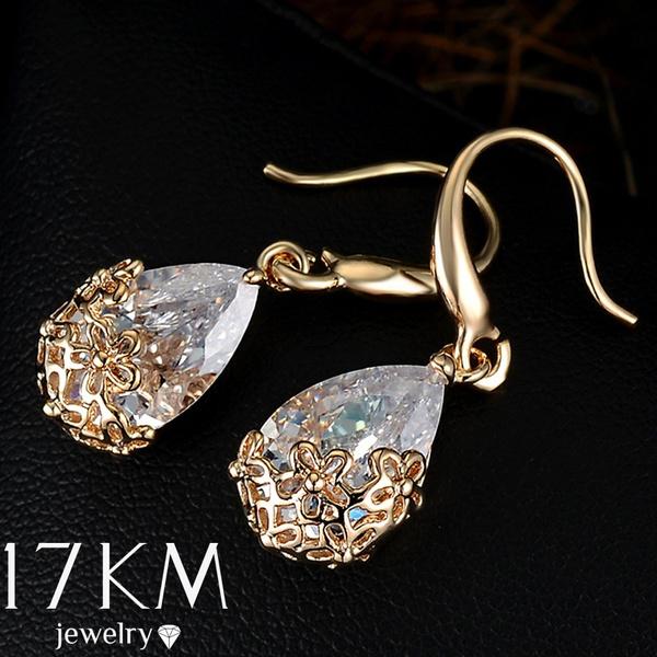 Cubic Zirconia, Designers, Dangle Earring, Romantic