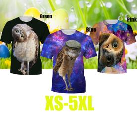 Owl, Funny T Shirt, 3dmentshirt, noveltytshirt