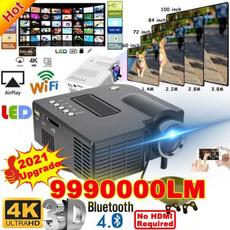 projetor4k, Mini, led, usb