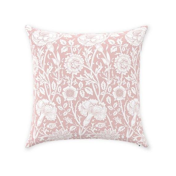 pink, geometricsquarepillowcase, Home Decor, bedroompillow