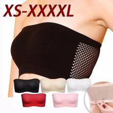 Women Vest, strapless, Fashion, Elastic