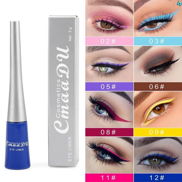 Blues, Beauty Makeup, liquideyeliner, eye