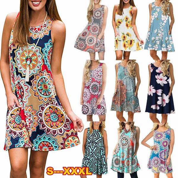 Summer, Fashion, Dress, Floral dress