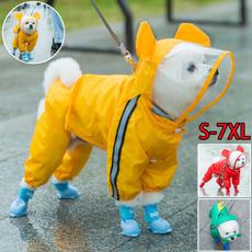 hooded, Waterproof, Pets, Coat