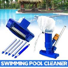 poolcleaner, leafskimmermesh, pool, cleaningbrush