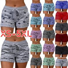 Summer, short leggings, high waist shorts, Waist