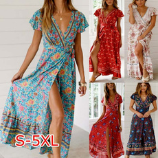 Summer, dressesforwomensexy, Floral print, sexy dresses